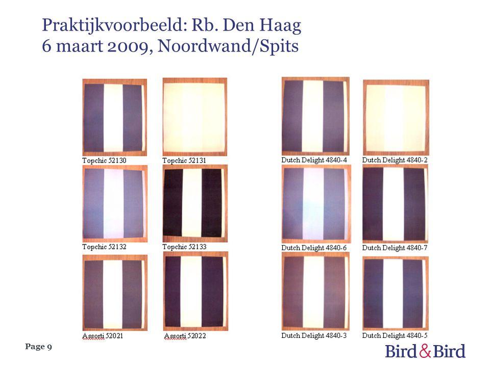 Praktijkvoorbeeld: Rb. Den Haag 6 maart 2009, Noordwand/Spits