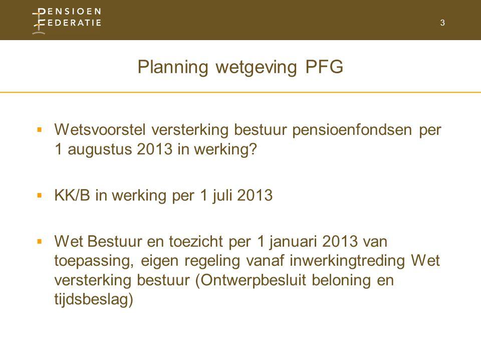 Planning wetgeving PFG