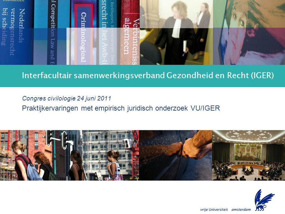 Interfacultair samenwerkingsverband Gezondheid en Recht (IGER)