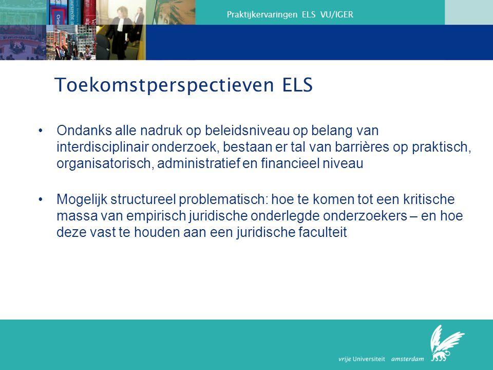 Toekomstperspectieven ELS