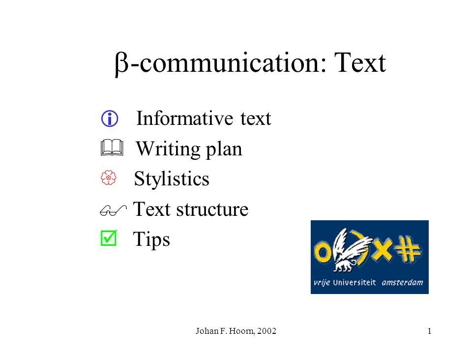-communication: Text