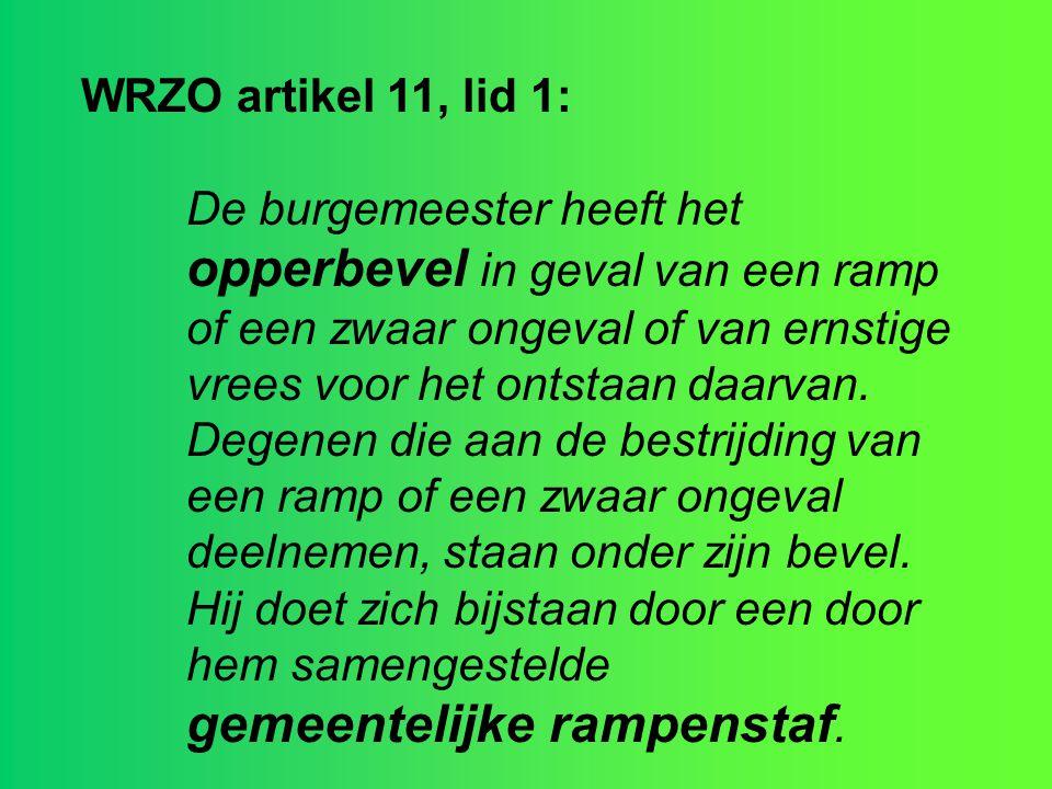 WRZO artikel 11, lid 1: