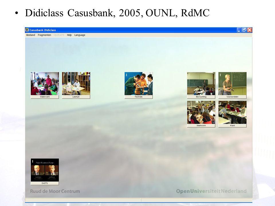Didiclass Casusbank, 2005, OUNL, RdMC