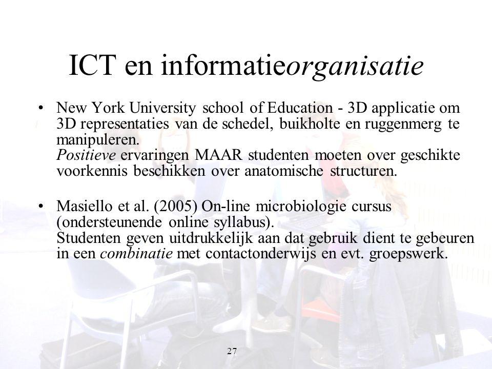 ICT en informatieorganisatie