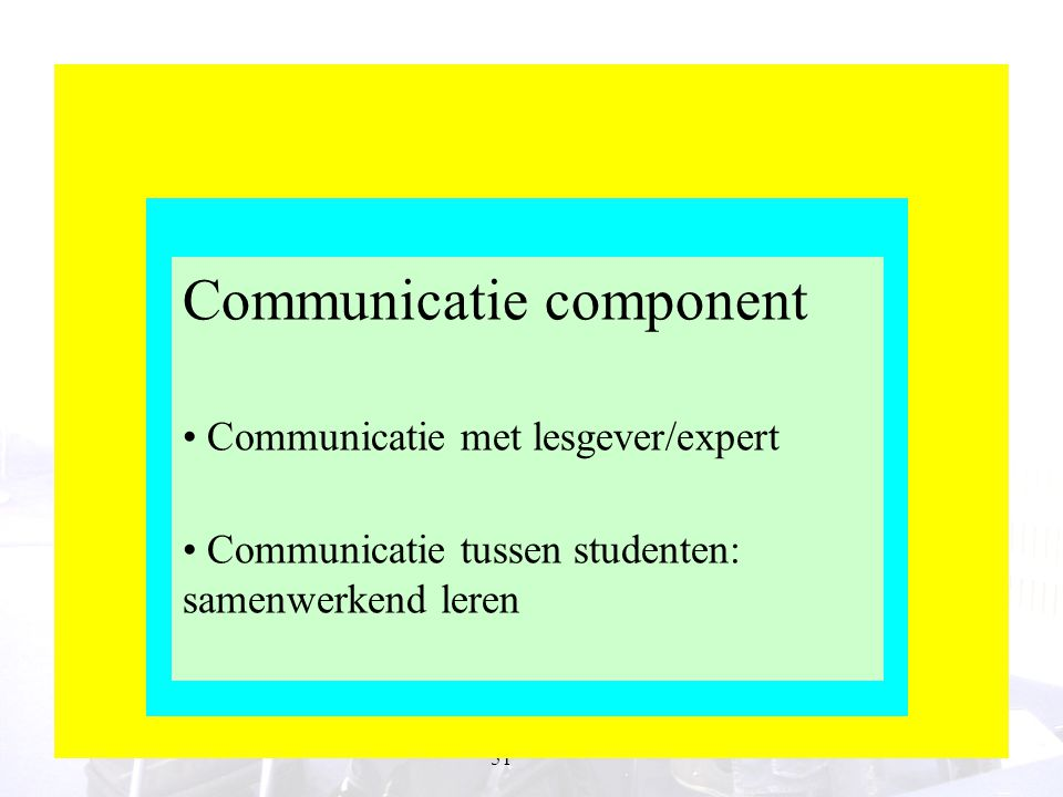 Communicatie component