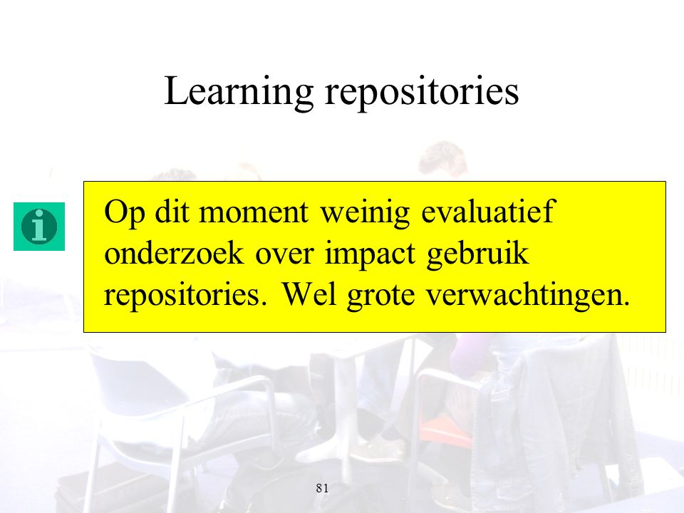 Learning repositories