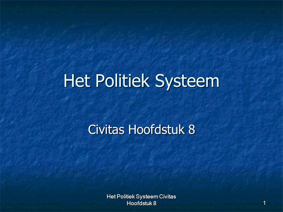 Het Politiek Systeem Civitas Hoofdstuk 8
