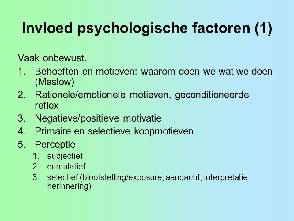 Invloed psychologische factoren (1)