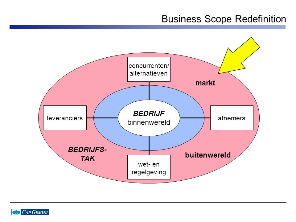 Business Scope Redefinition
