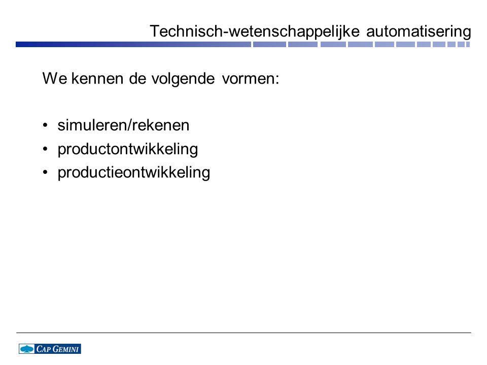 Technisch-wetenschappelijke automatisering