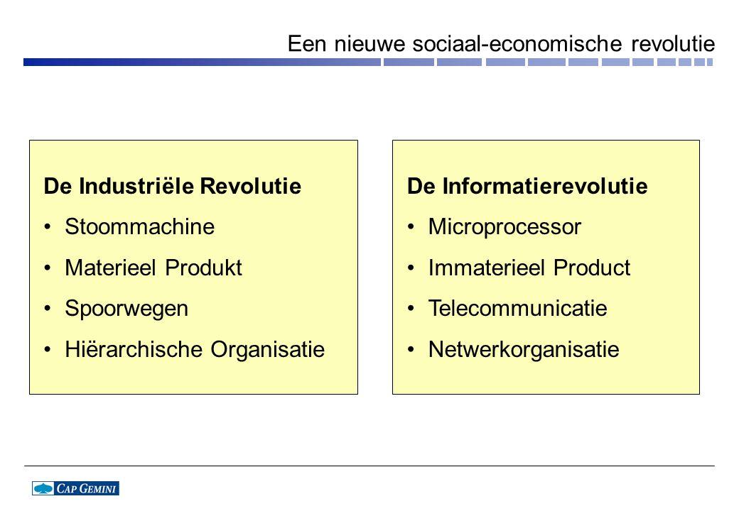 Een nieuwe sociaal-economische revolutie