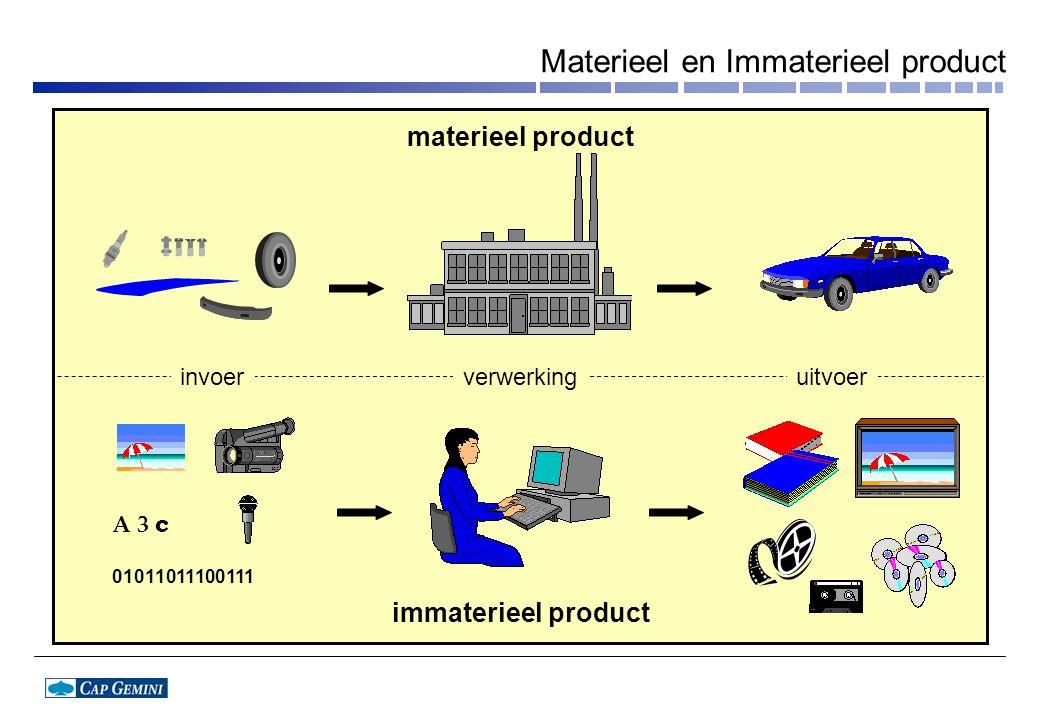 Materieel en Immaterieel product