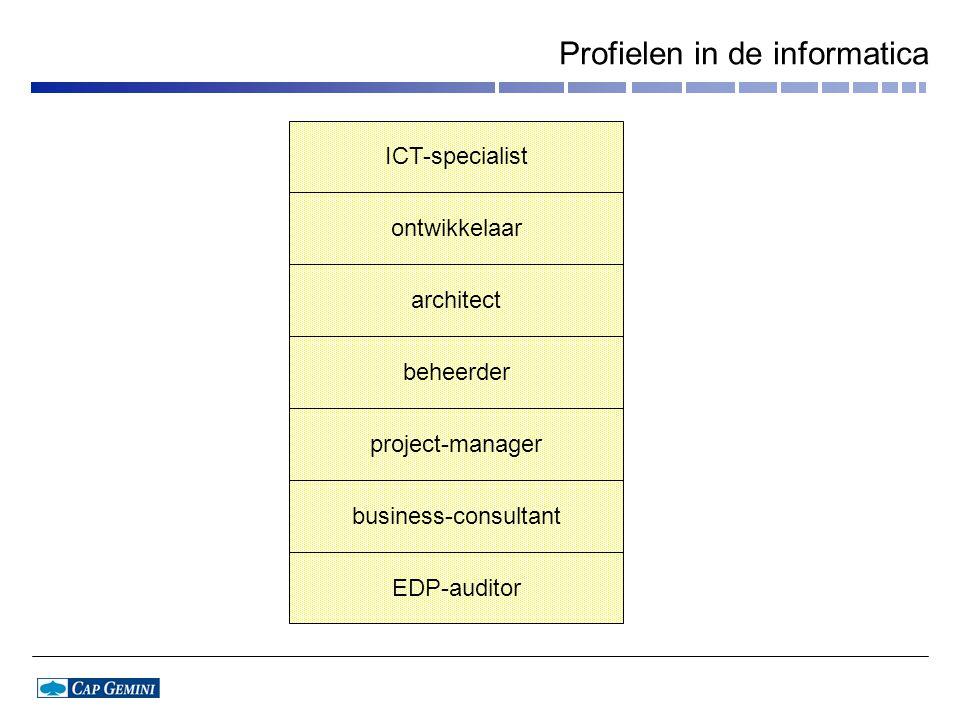 Profielen in de informatica