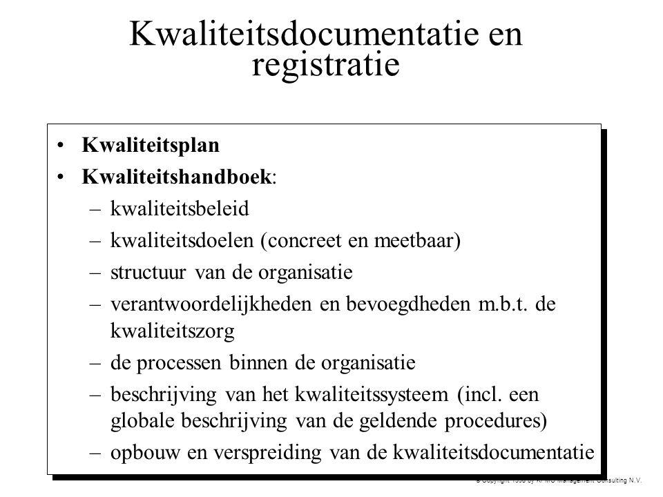 Kwaliteitsdocumentatie en registratie