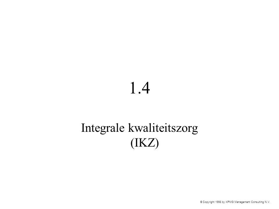 Integrale kwaliteitszorg (IKZ)
