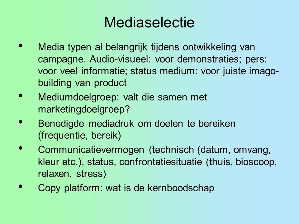 Mediaselectie