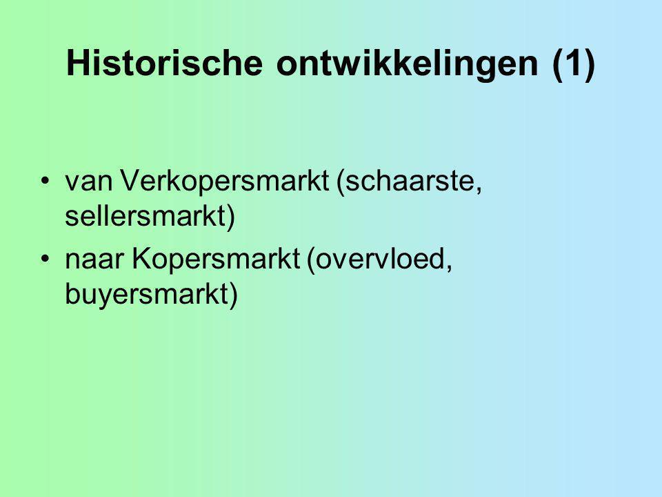 Historische ontwikkelingen (1)
