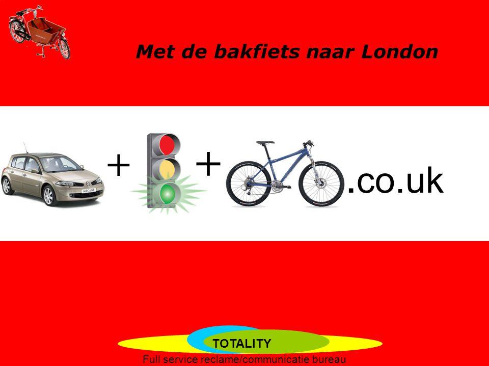 Met de bakfiets naar London