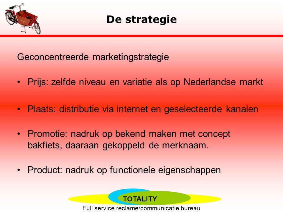 De strategie Geconcentreerde marketingstrategie