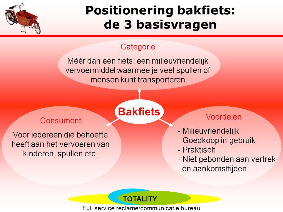 Positionering bakfiets: de 3 basisvragen
