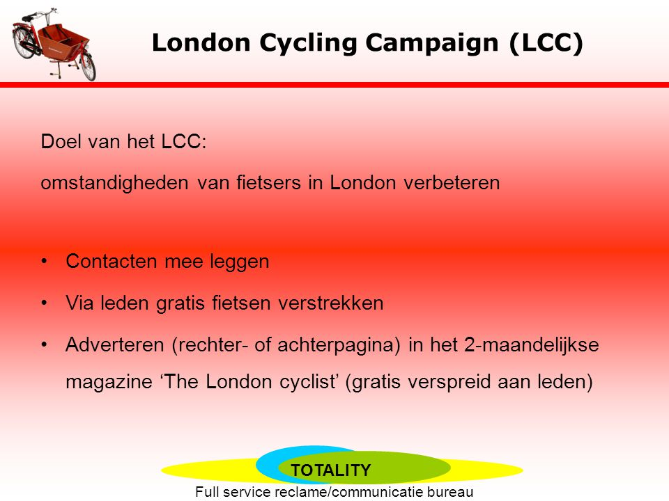 London Cycling Campaign (LCC)