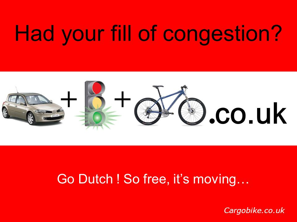 + + co.uk Had your fill of congestion