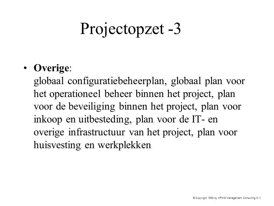 Projectopzet -3