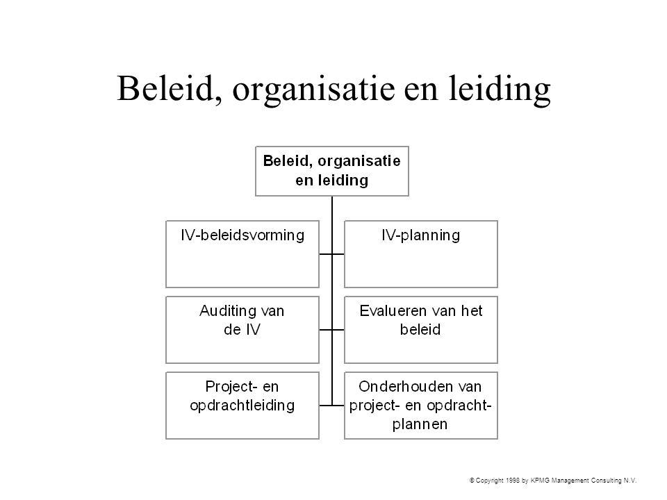 Beleid, organisatie en leiding