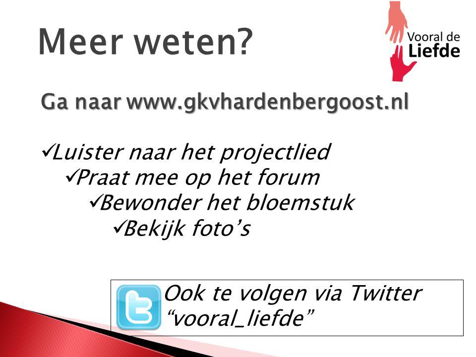 Meer weten Ga naar www.gkvhardenbergoost.nl