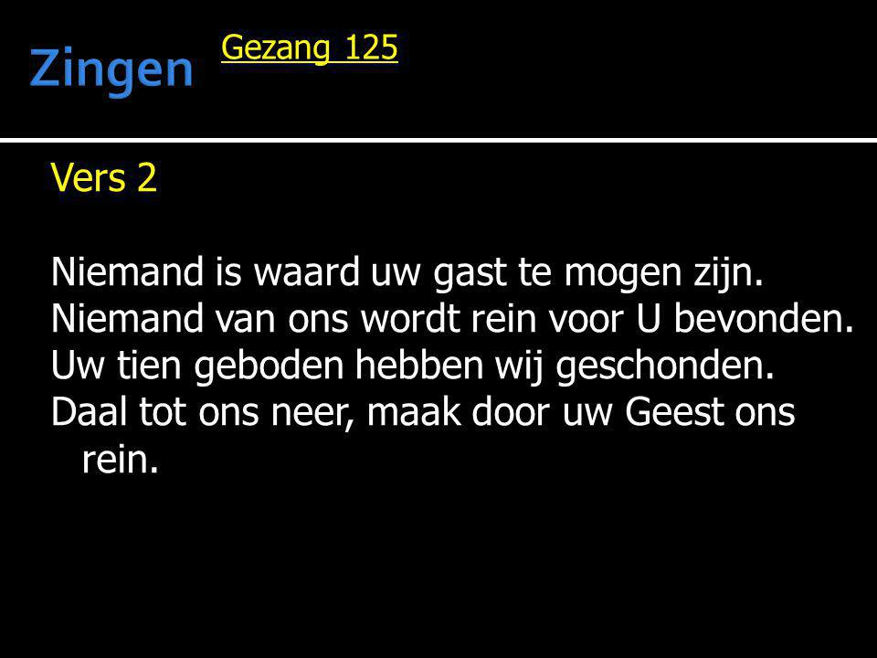 Zingen Gezang 125.
