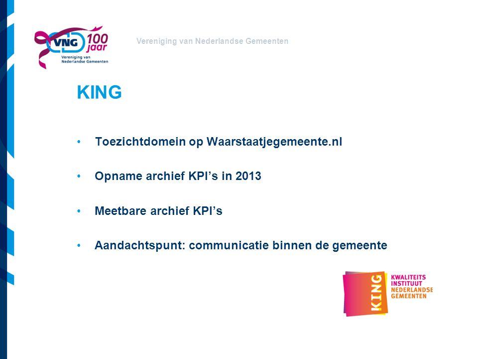 KING Toezichtdomein op Waarstaatjegemeente.nl