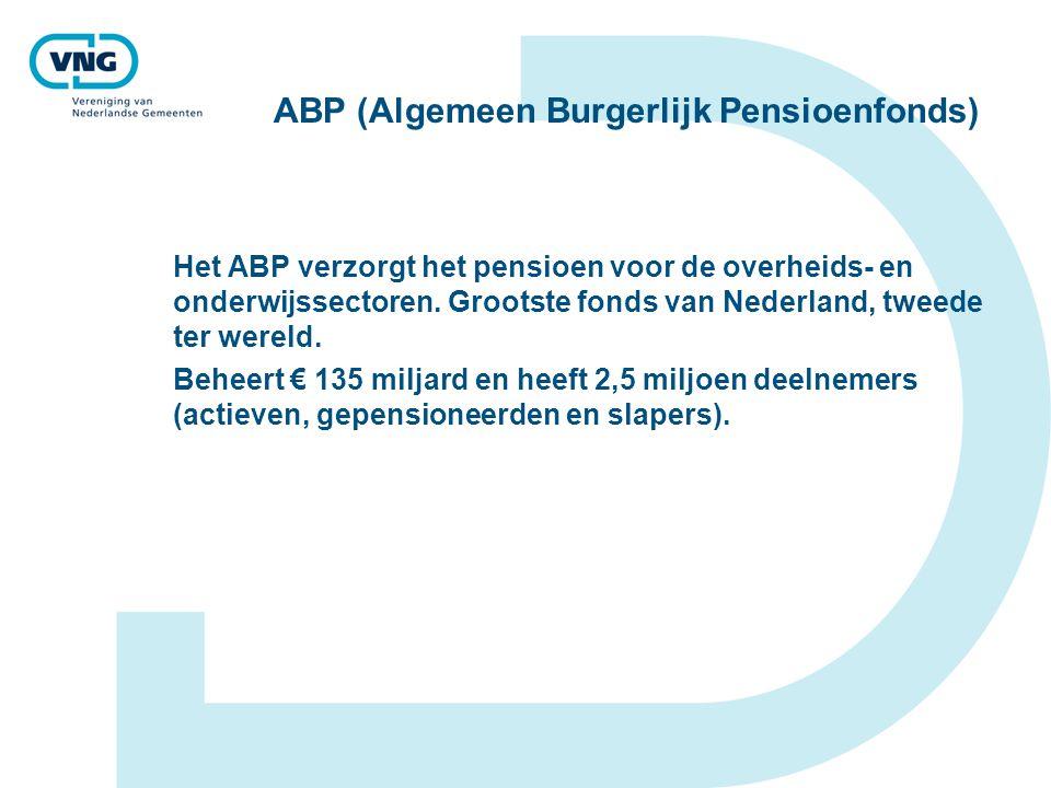 ABP (Algemeen Burgerlijk Pensioenfonds)