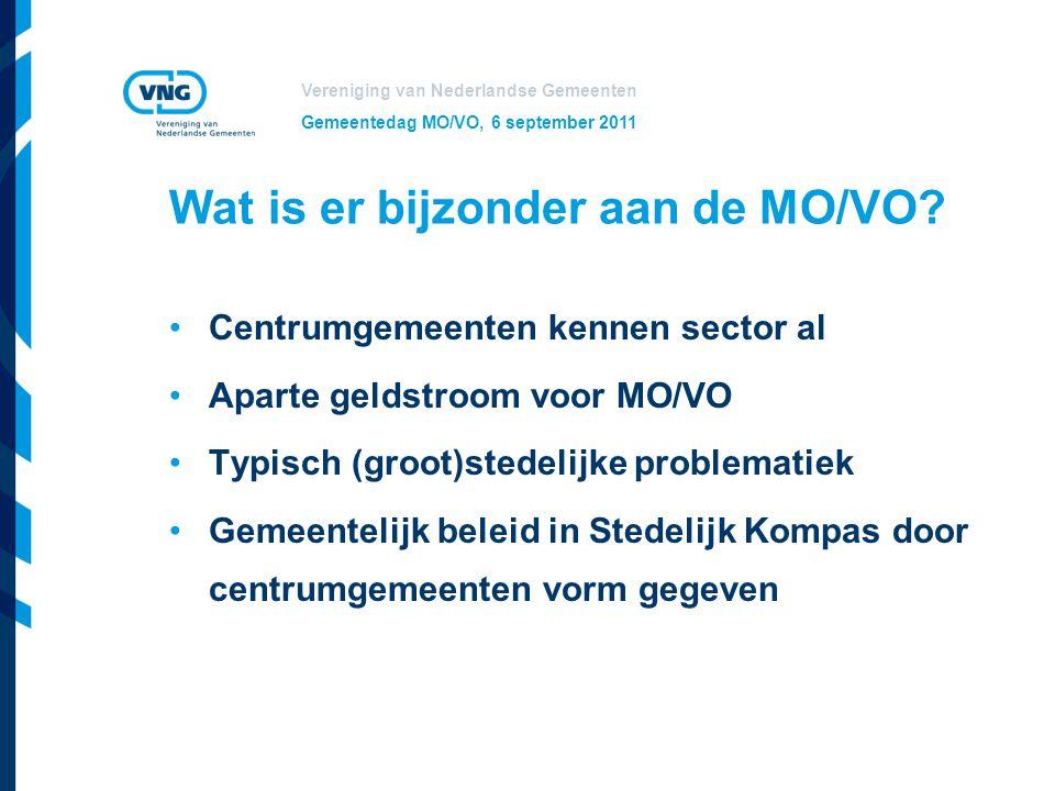 Wat is er bijzonder aan de MO/VO