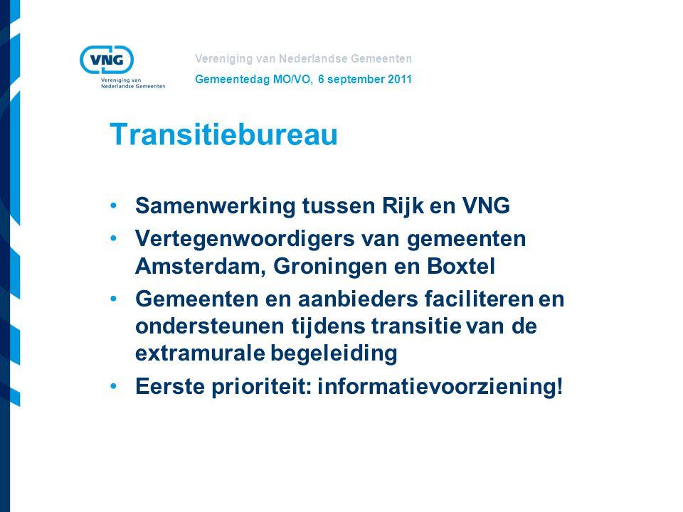Transitiebureau Samenwerking tussen Rijk en VNG