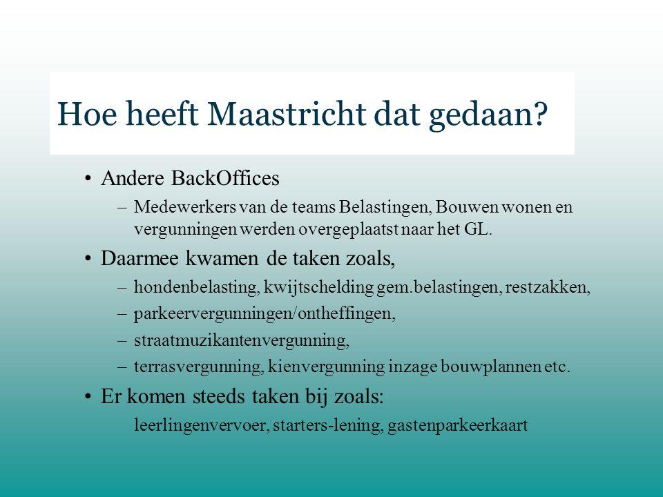 Hoe heeft Maastricht dat gedaan