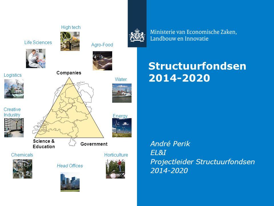 André Perik EL&I Projectleider Structuurfondsen 2014-2020