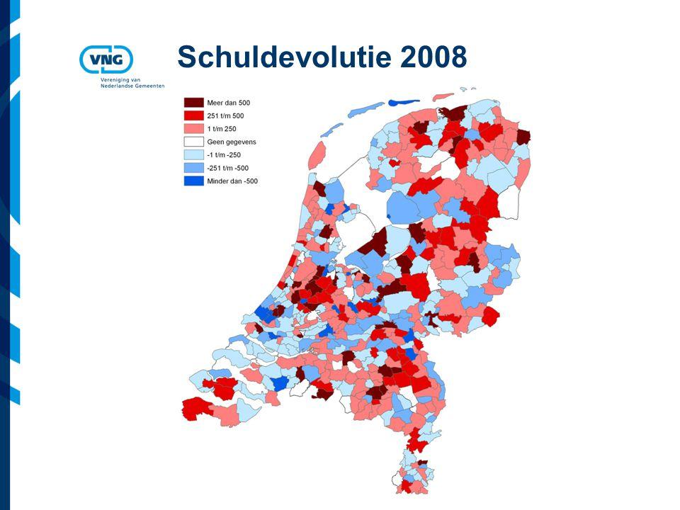 Schuldevolutie 2008