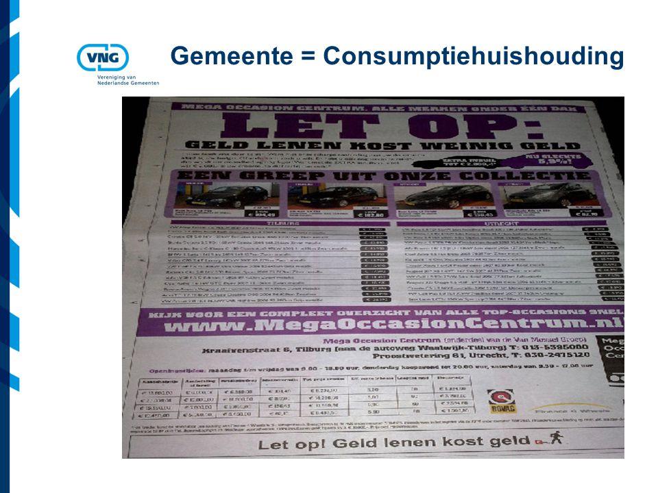 Gemeente = Consumptiehuishouding