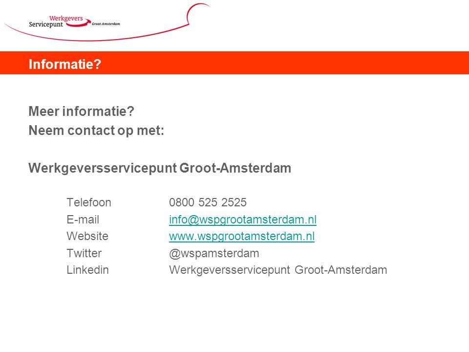 Werkgeversservicepunt Groot-Amsterdam