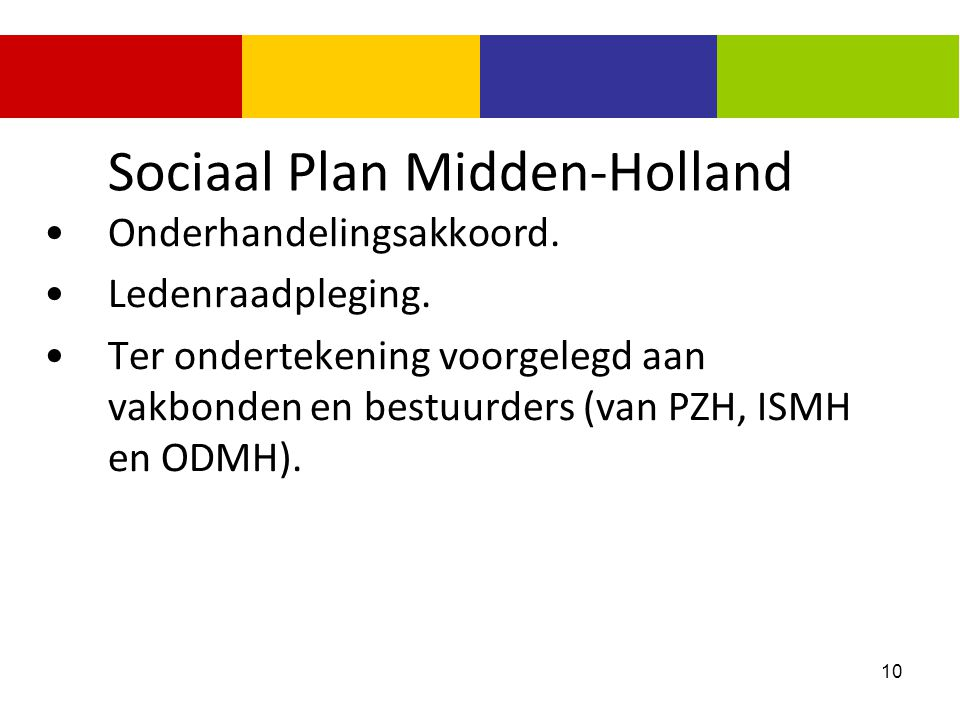 Sociaal Plan Midden-Holland