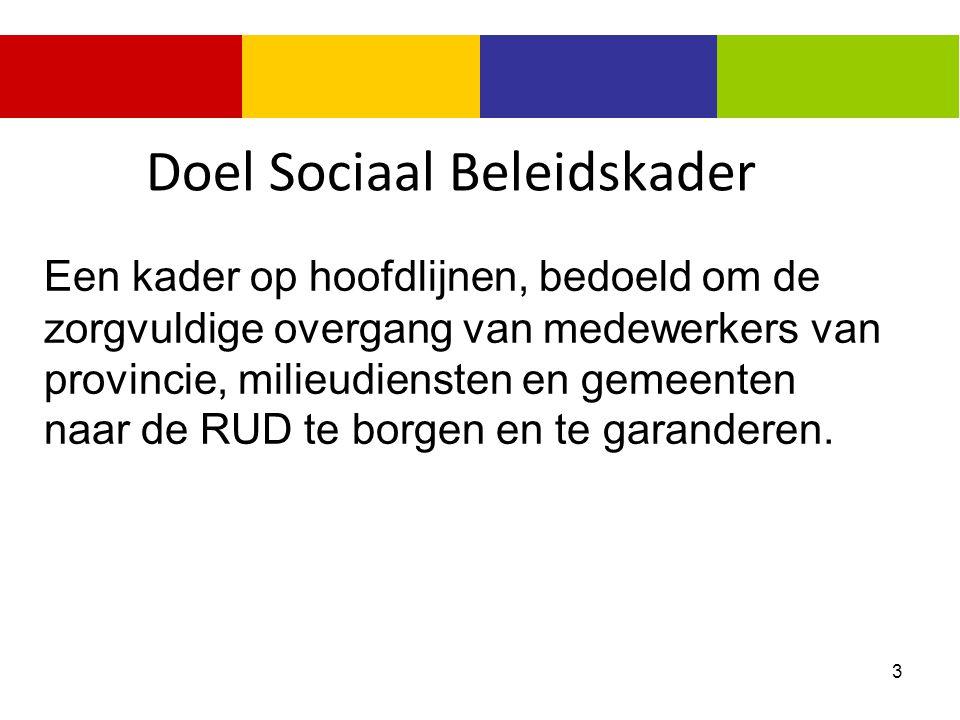 Doel Sociaal Beleidskader
