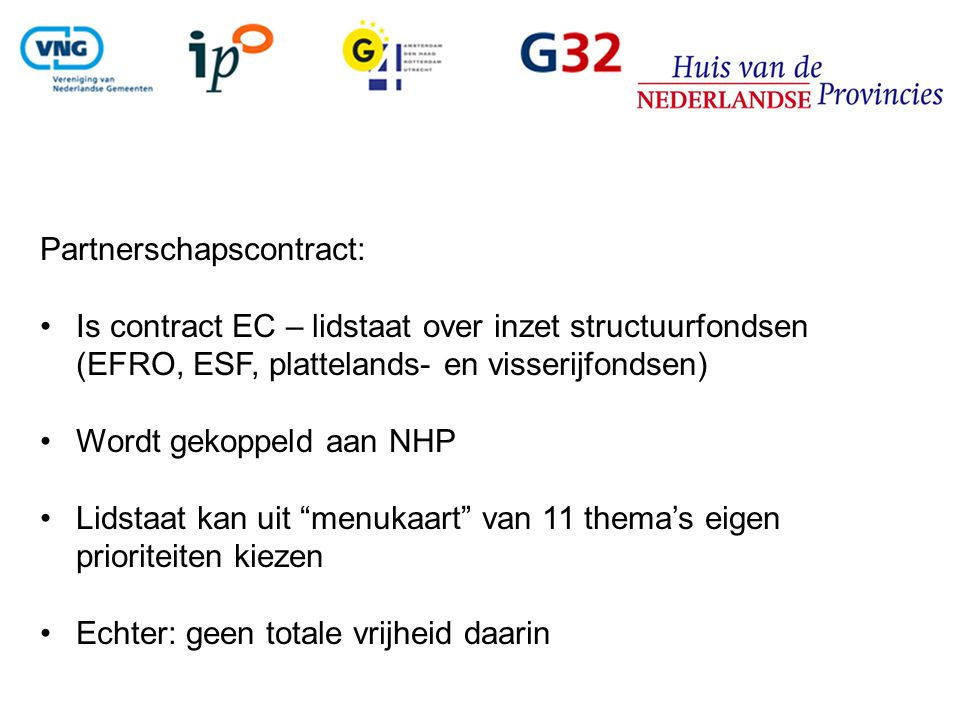 Partnerschapscontract: