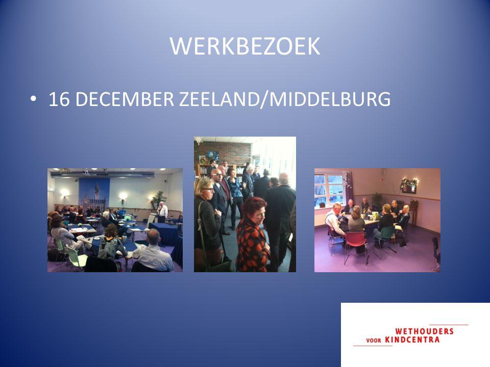 WERKBEZOEK 16 DECEMBER ZEELAND/MIDDELBURG