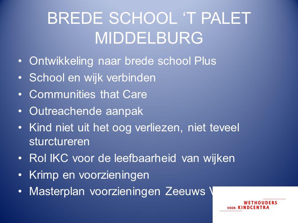 BREDE SCHOOL 'T PALET MIDDELBURG