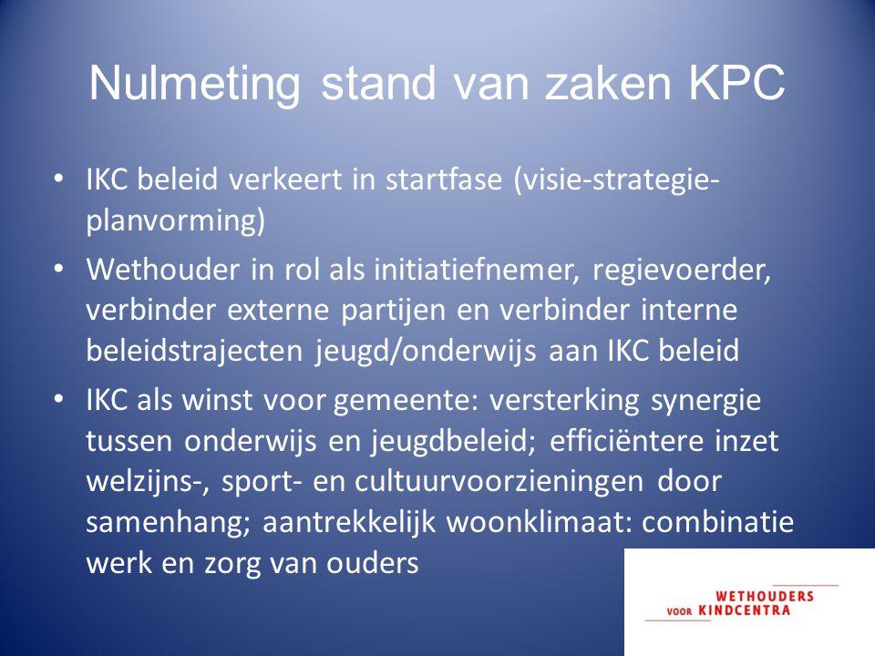 Nulmeting stand van zaken KPC