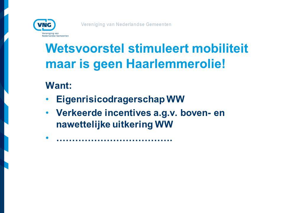 Wetsvoorstel stimuleert mobiliteit maar is geen Haarlemmerolie!