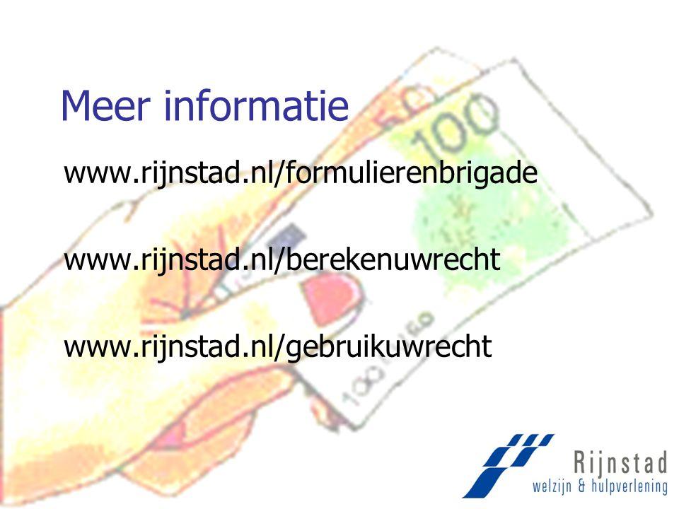 Meer informatie www.rijnstad.nl/formulierenbrigade