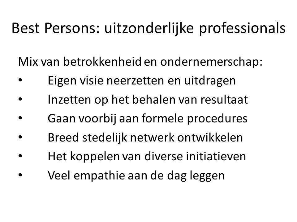 Best Persons: uitzonderlijke professionals