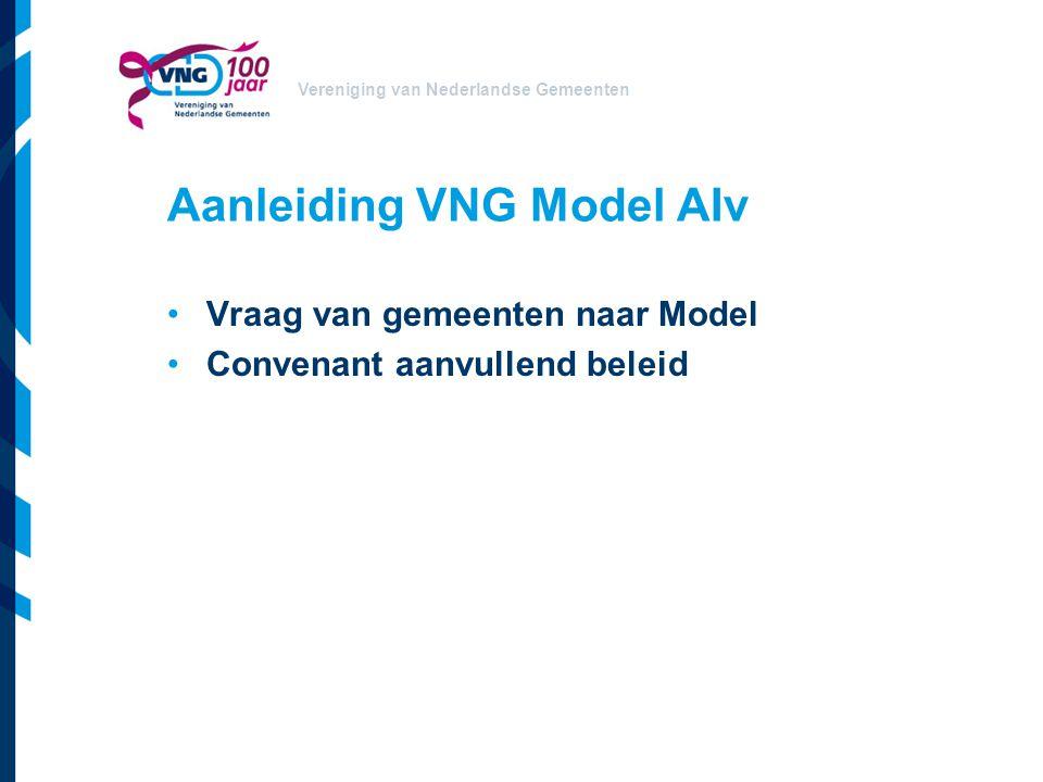Aanleiding VNG Model AIv