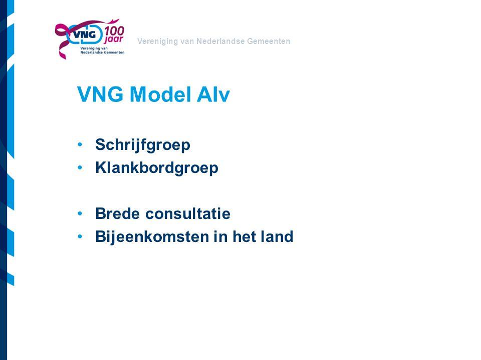 VNG Model AIv Schrijfgroep Klankbordgroep Brede consultatie